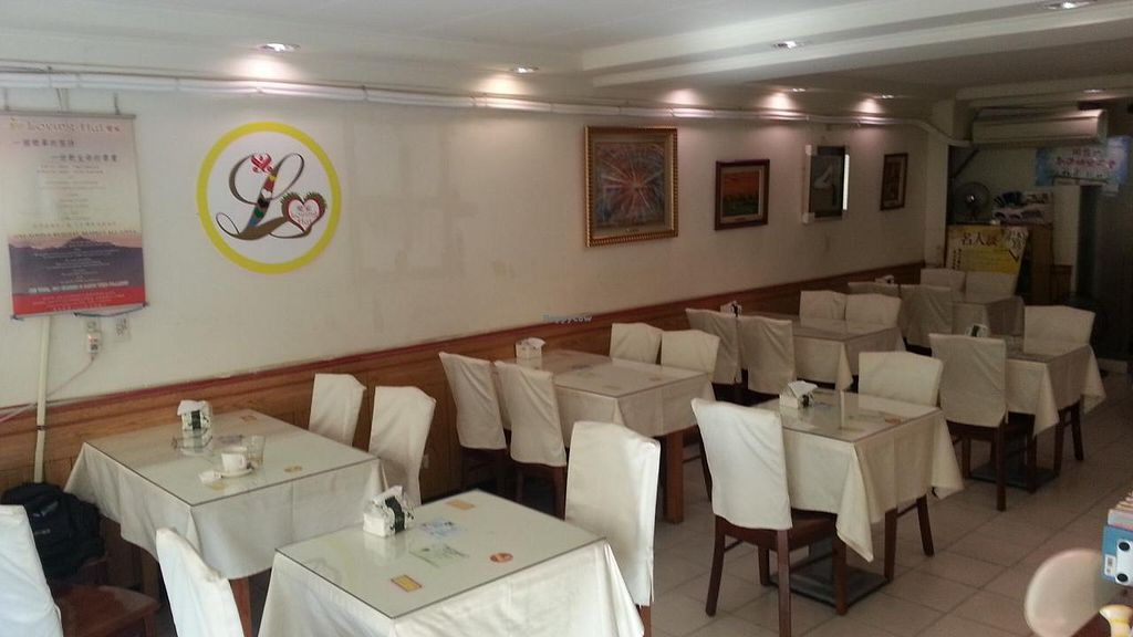 """Photo of Loving Hut - QingZhong St  by <a href=""""/members/profile/eric"""">eric</a> <br/>dining area <br/> October 11, 2014  - <a href='/contact/abuse/image/32419/82685'>Report</a>"""