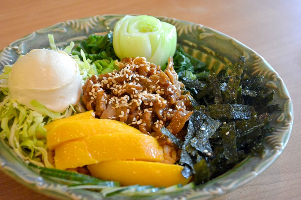 """Photo of The Vegetarian Kitchen  by <a href=""""/members/profile/konserns"""">konserns</a> <br/>Bibimbap <br/> May 23, 2016  - <a href='/contact/abuse/image/32430/150426'>Report</a>"""