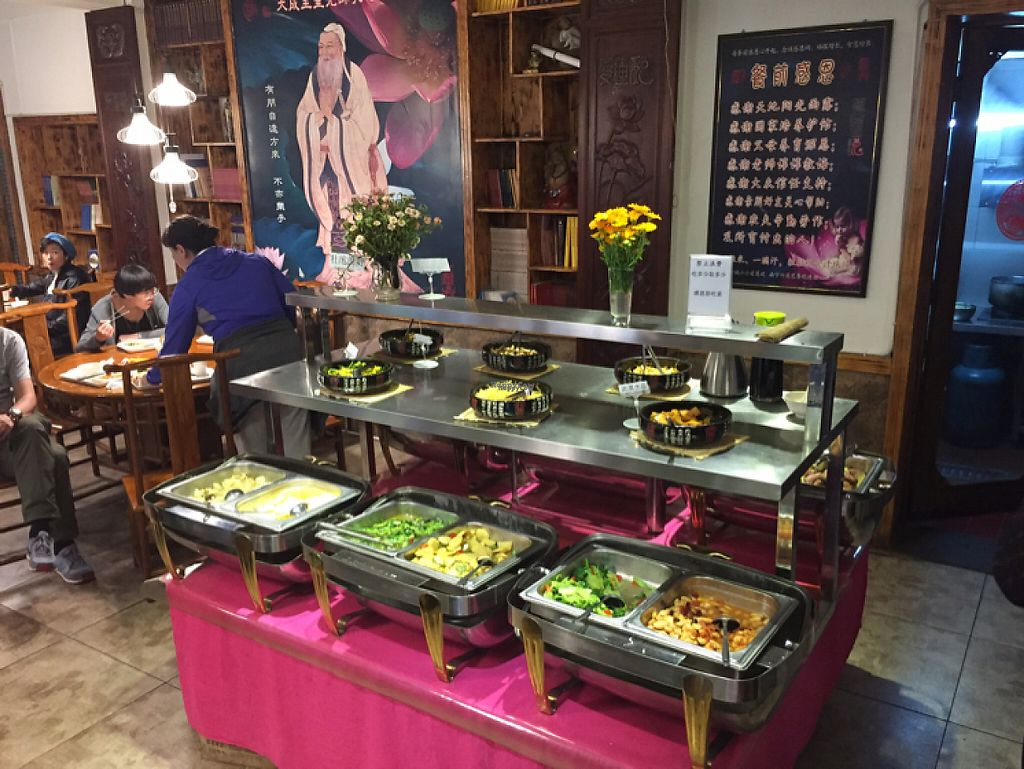 "Photo of Lovely Lotus Delicious Vegetarian - temporarily closed  by <a href=""/members/profile/GeckoHeaven"">GeckoHeaven</a> <br/>The buffet <br/> April 27, 2017  - <a href='/contact/abuse/image/32442/252906'>Report</a>"