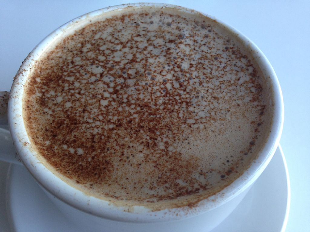 """Photo of Alcove Coffee  by <a href=""""/members/profile/calamaestra"""">calamaestra</a> <br/>vanilla chai latte  <br/> May 16, 2016  - <a href='/contact/abuse/image/32445/149327'>Report</a>"""