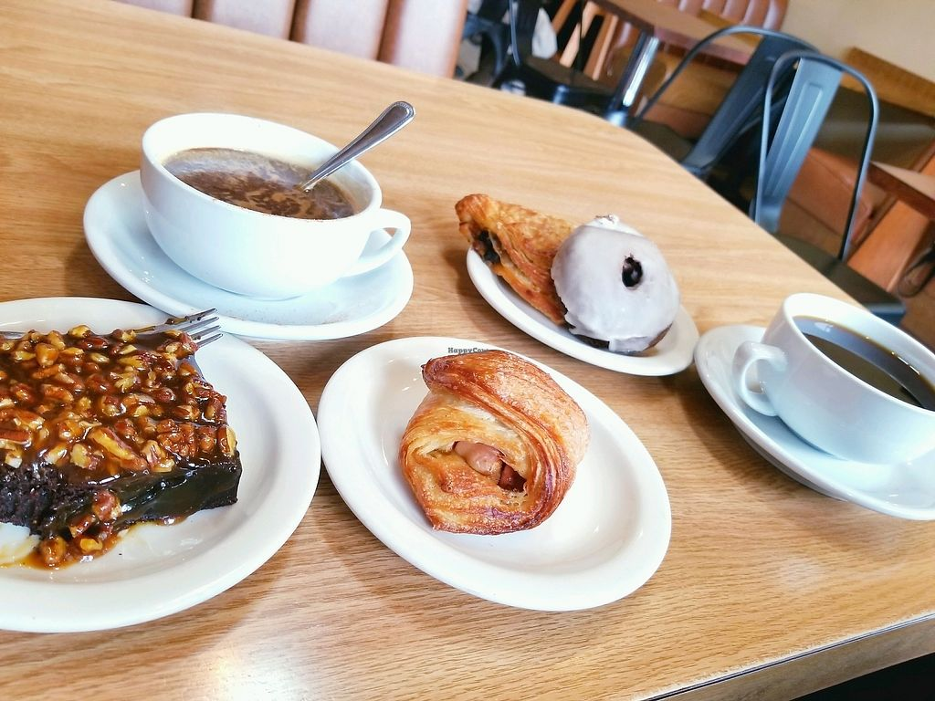 "Photo of Beet Box Bakery and Cafe  by <a href=""/members/profile/KendraWolfe"">KendraWolfe</a> <br/>carmel brownie apple croissant, donuts and coffee <br/> February 4, 2018  - <a href='/contact/abuse/image/32467/354993'>Report</a>"