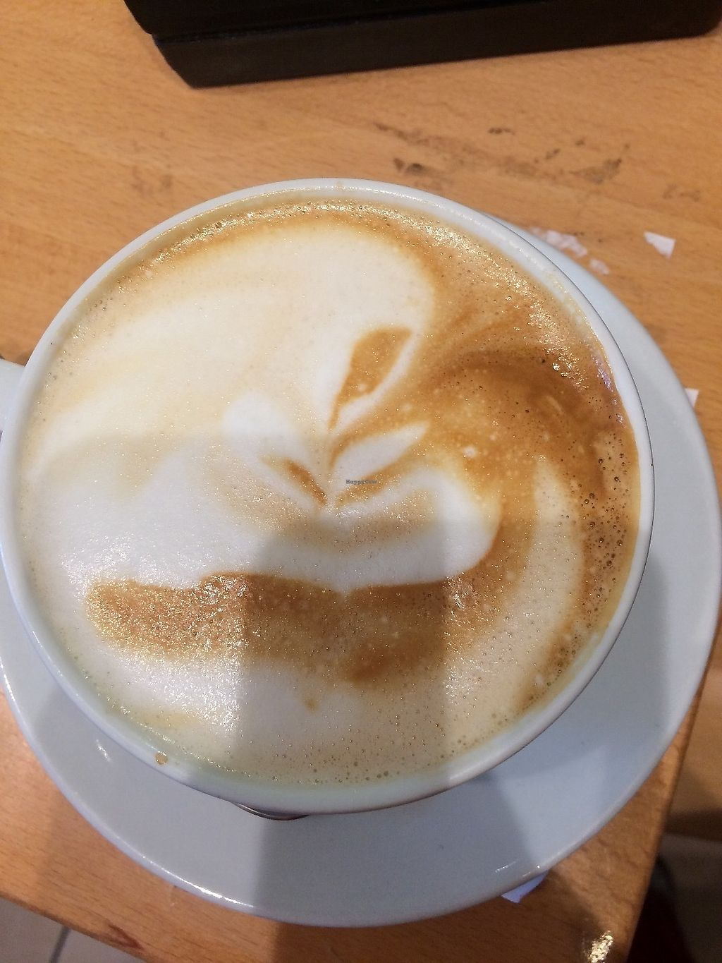 """Photo of Cosmos-Heart Cafe  by <a href=""""/members/profile/RoseTyler"""">RoseTyler</a> <br/>Delicious latte <br/> June 12, 2017  - <a href='/contact/abuse/image/32472/268407'>Report</a>"""