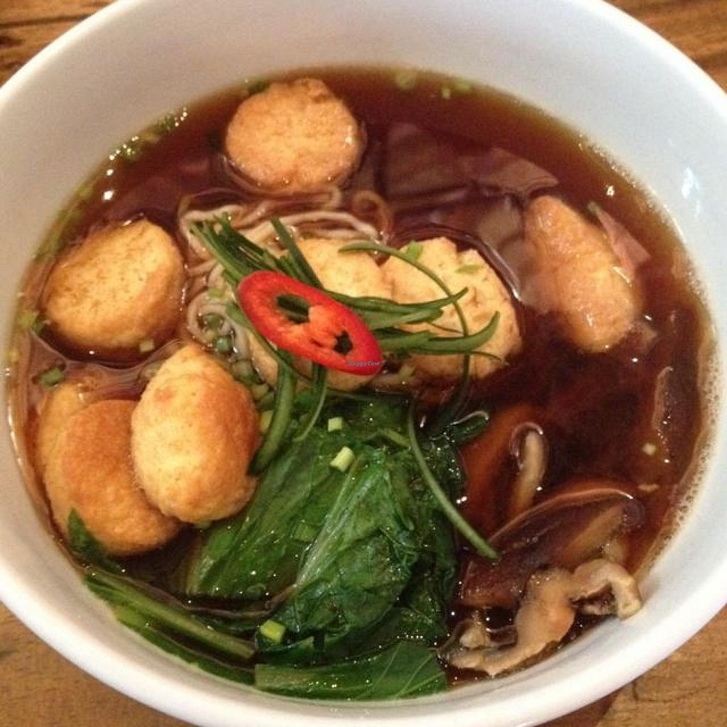 """Photo of Laughing Buddha  by <a href=""""/members/profile/Ayane"""">Ayane</a> <br/>Vegetarian Ramen <br/> August 16, 2014  - <a href='/contact/abuse/image/32486/77137'>Report</a>"""