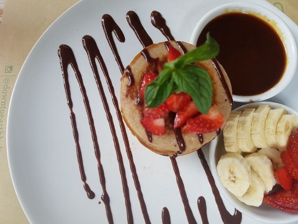 """Photo of Earth Cafe and Market - Ubud  by <a href=""""/members/profile/Orianexmd"""">Orianexmd</a> <br/>pancakes  <br/> May 12, 2017  - <a href='/contact/abuse/image/32487/257989'>Report</a>"""