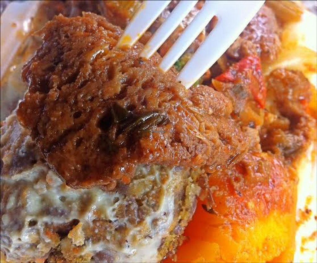 """Photo of Ma's Vegi Deli  by <a href=""""/members/profile/VeggiePirate"""">VeggiePirate</a> <br/>The gluten steak was perfectly tender and savory <br/> March 4, 2014  - <a href='/contact/abuse/image/32497/65311'>Report</a>"""