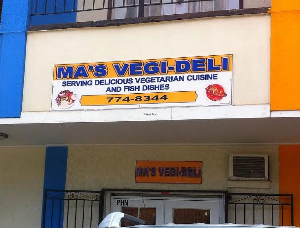 """Photo of Ma's Vegi Deli  by <a href=""""/members/profile/VeggiePirate"""">VeggiePirate</a> <br/>Look for the deli in a strip mall off Smith Bay Road, by the Puma station. Not far from Coki Beach <br/> March 4, 2014  - <a href='/contact/abuse/image/32497/65312'>Report</a>"""