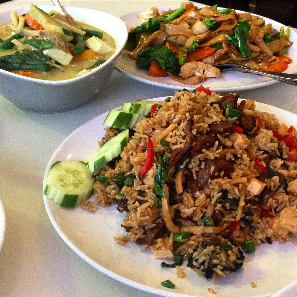 """Photo of Green Palace Thai Vegetarian  by <a href=""""/members/profile/MOJO%21"""">MOJO!</a> <br/>The Special Fried Rice at Green Palace Thai <br/> January 24, 2015  - <a href='/contact/abuse/image/32508/91334'>Report</a>"""
