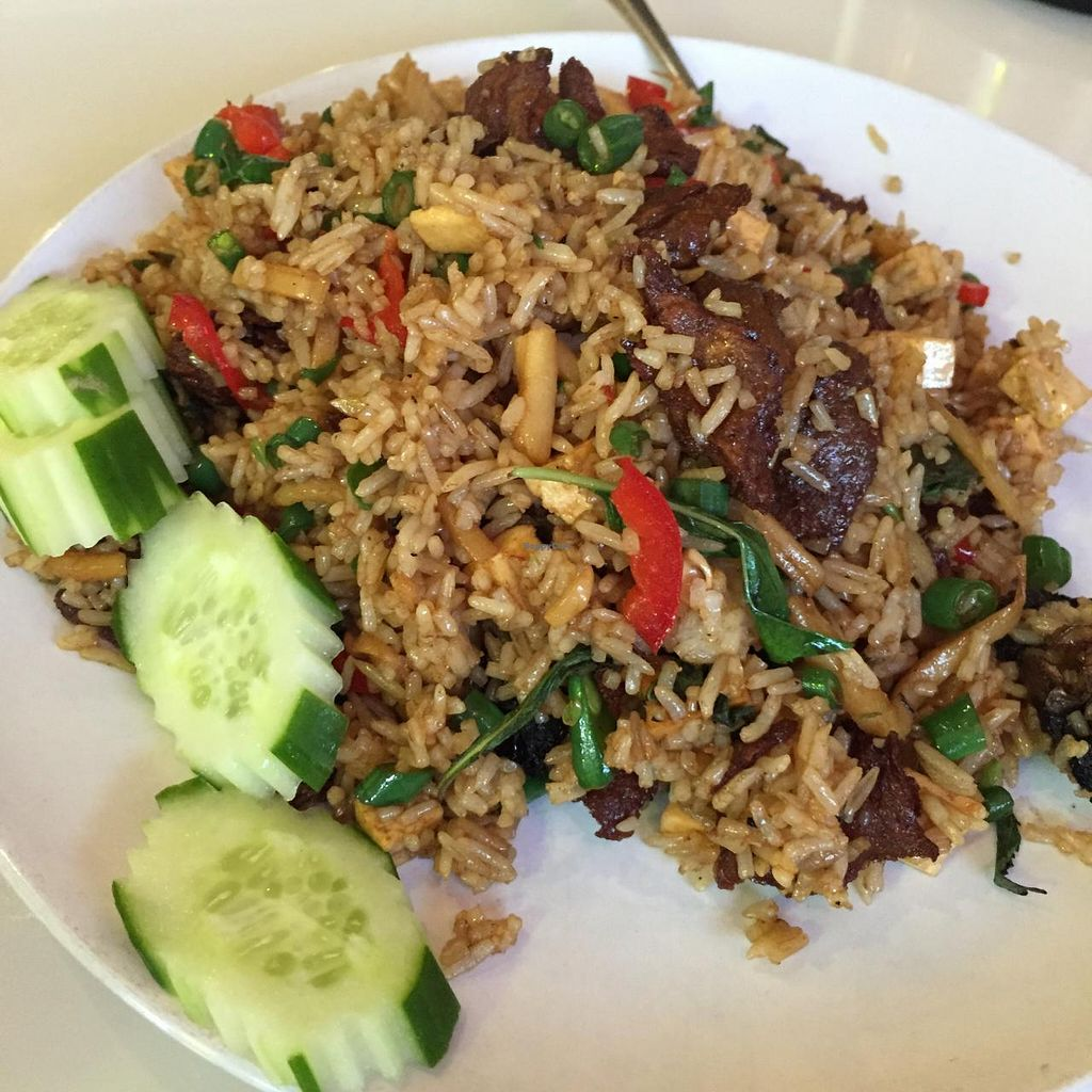 """Photo of Green Palace Thai Vegetarian  by <a href=""""/members/profile/MOJO%21"""">MOJO!</a> <br/>fried rice <br/> January 24, 2015  - <a href='/contact/abuse/image/32508/91339'>Report</a>"""