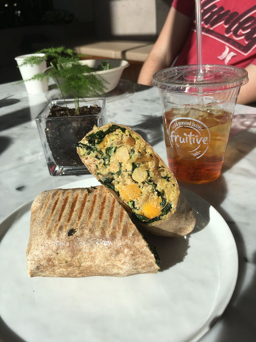 """Photo of Fruitive  by <a href=""""/members/profile/Beshnay"""">Beshnay</a> <br/>the Tuscan kale wrap. ? <br/> January 21, 2018  - <a href='/contact/abuse/image/32512/349106'>Report</a>"""