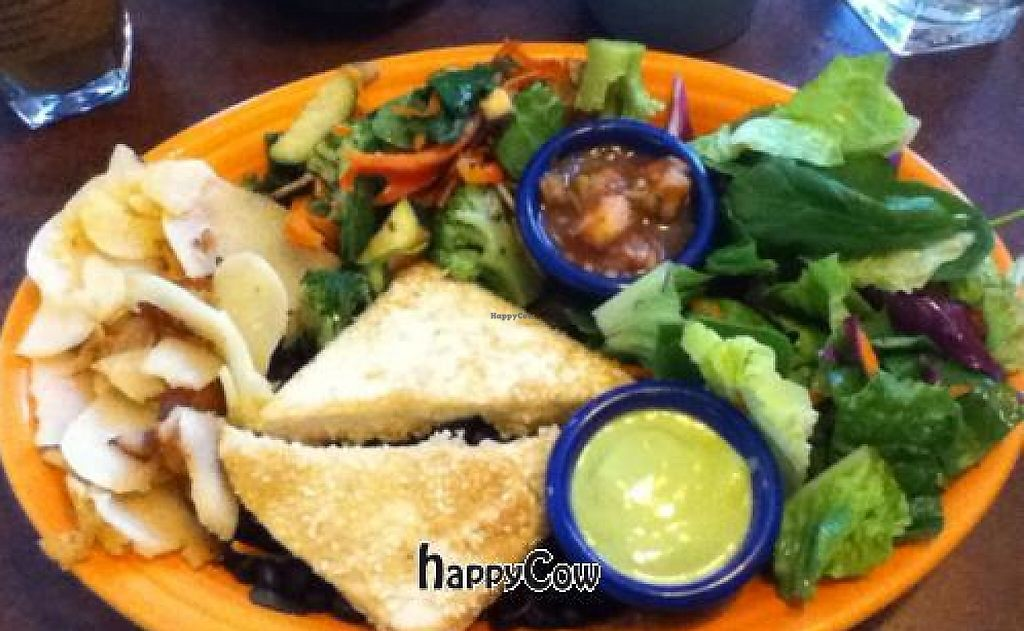 """Photo of Blue Sky Cafe  by <a href=""""/members/profile/Jeff%20M"""">Jeff M</a> <br/>sesame ginger tofu plate <br/> January 13, 2013  - <a href='/contact/abuse/image/32516/191301'>Report</a>"""