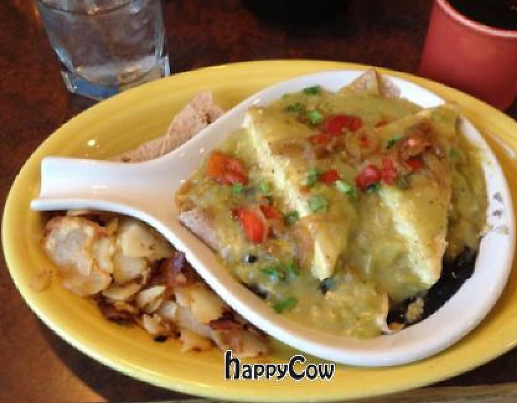 """Photo of Blue Sky Cafe  by <a href=""""/members/profile/Jeff%20M"""">Jeff M</a> <br/>Vegan Santa Fe Juevos <br/> January 13, 2013  - <a href='/contact/abuse/image/32516/191302'>Report</a>"""