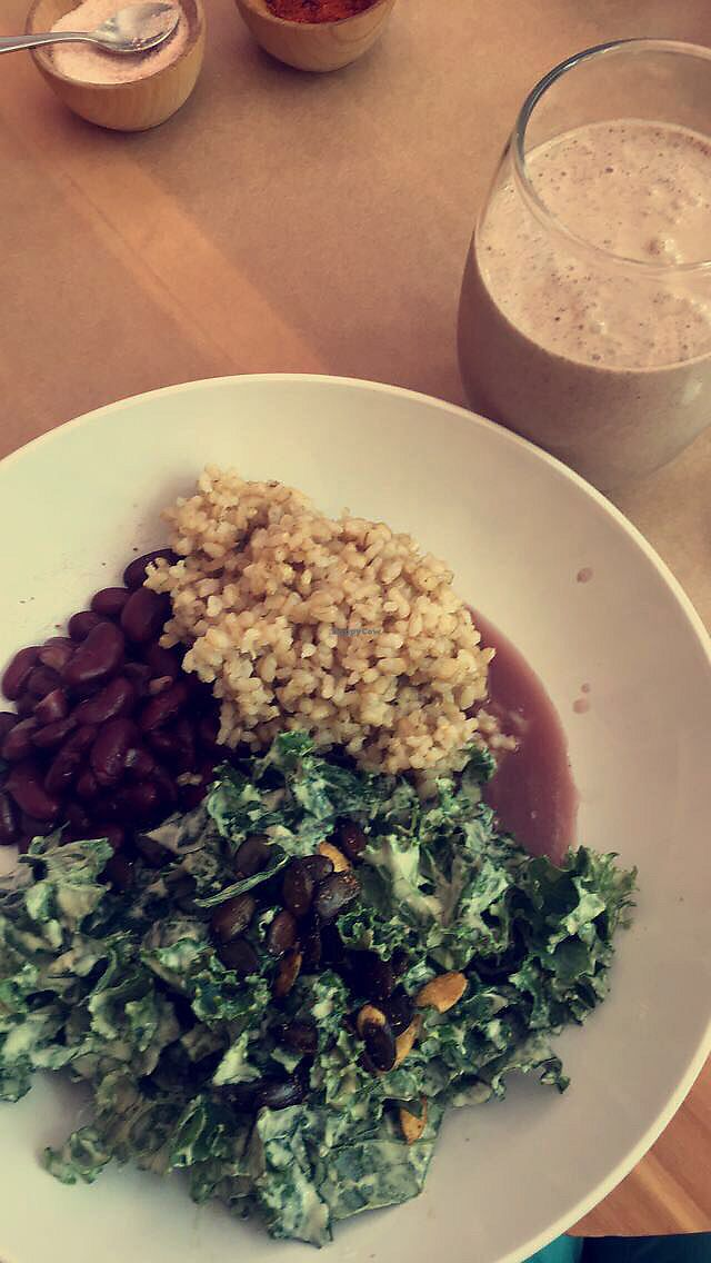 """Photo of Mandarava  by <a href=""""/members/profile/MorganM"""">MorganM</a> <br/>Daily bowl and chocolate smoothie <br/> July 8, 2017  - <a href='/contact/abuse/image/32529/277767'>Report</a>"""