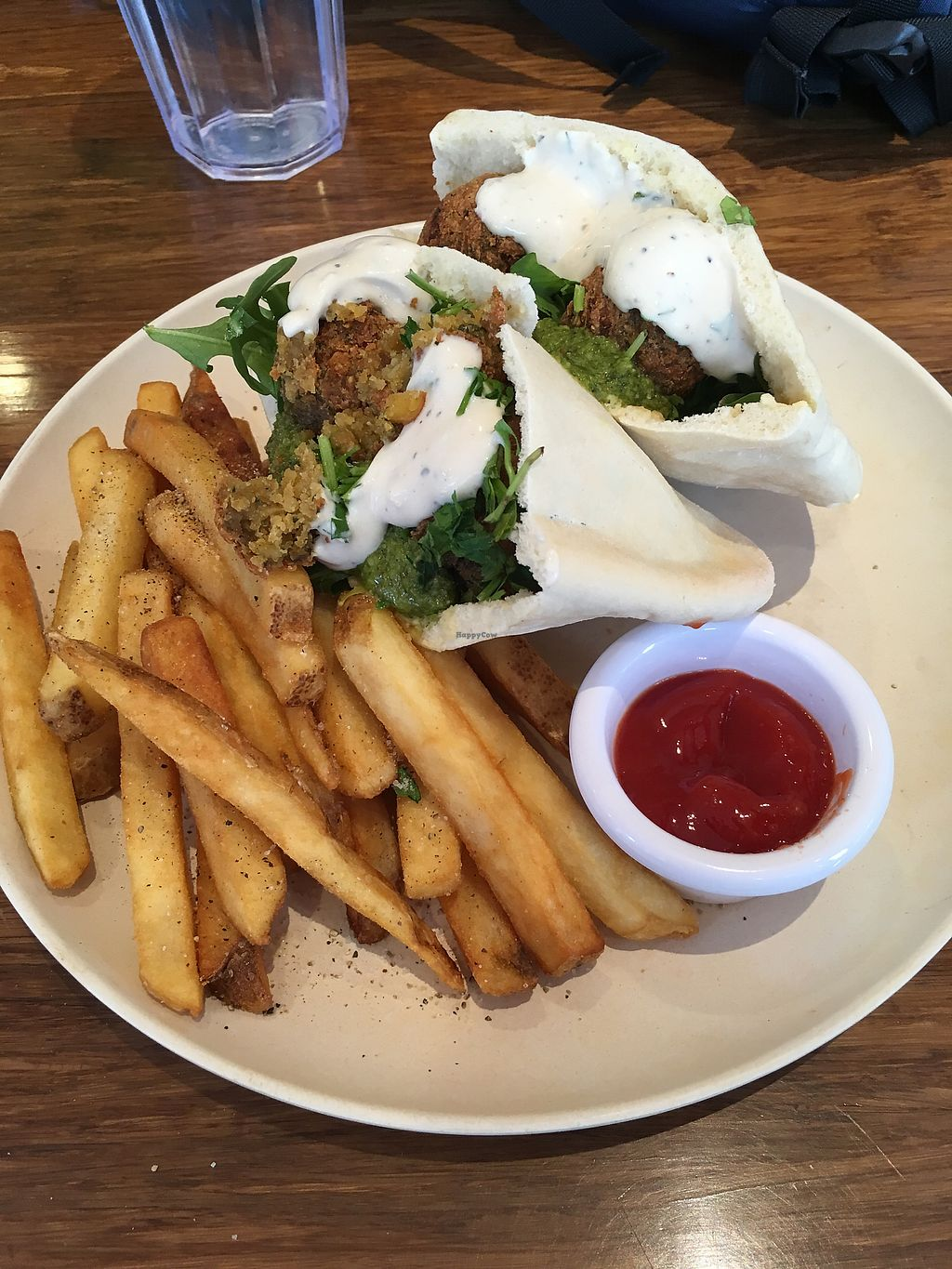 """Photo of Veggie Grill - Downtown Portland  by <a href=""""/members/profile/DianeH"""">DianeH</a> <br/>Fala-Full Sandwich & fries  <br/> February 5, 2018  - <a href='/contact/abuse/image/32544/355408'>Report</a>"""