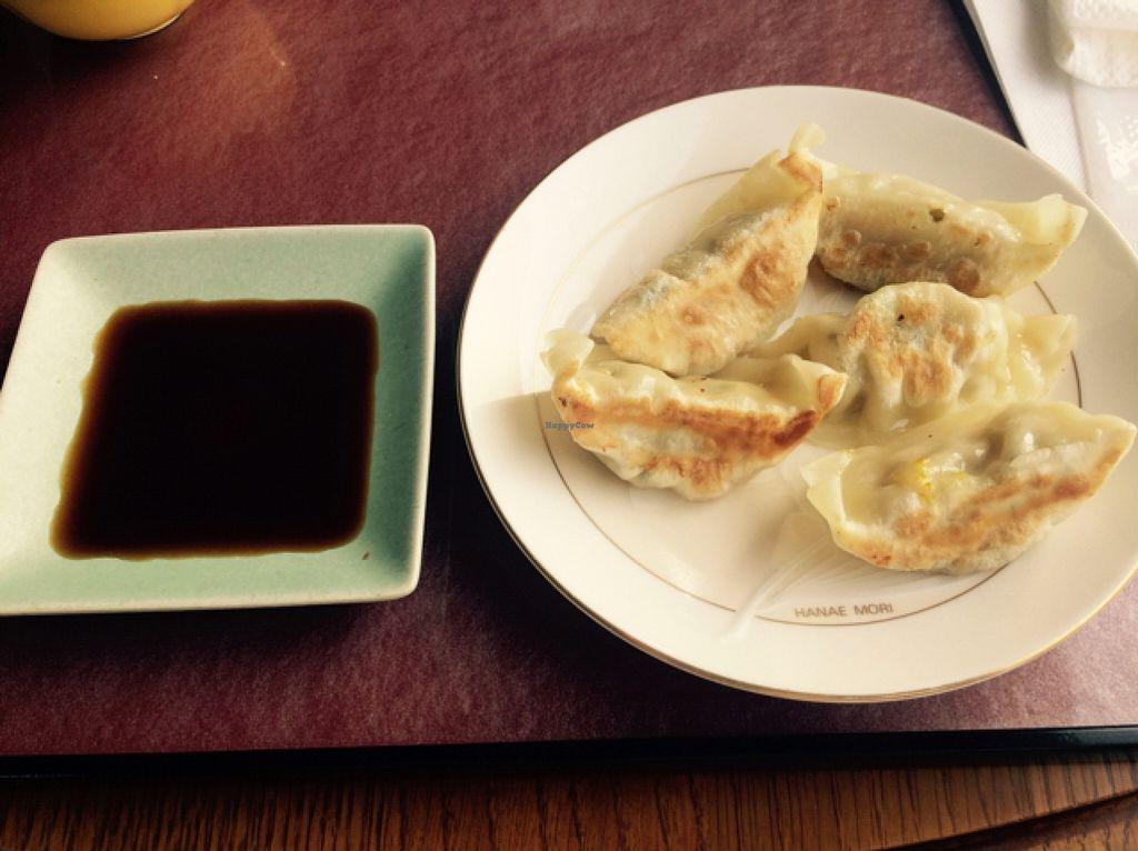 """Photo of CLOSED: Prunus  by <a href=""""/members/profile/proximateplatypus"""">proximateplatypus</a> <br/>Gyoza dumplings with organic soy sauce <br/> December 6, 2015  - <a href='/contact/abuse/image/32552/127366'>Report</a>"""