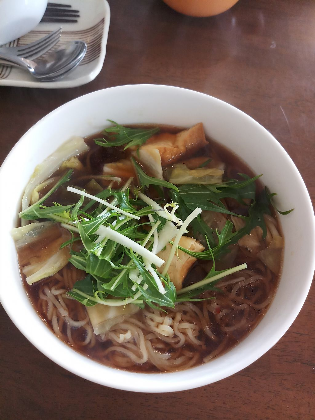 """Photo of CLOSED: Prunus  by <a href=""""/members/profile/MissEunice"""">MissEunice</a> <br/>Vegan ramen <br/> January 6, 2018  - <a href='/contact/abuse/image/32552/343651'>Report</a>"""