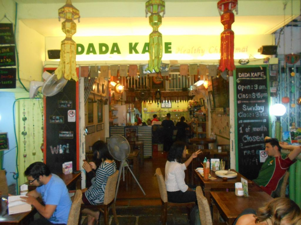 "Photo of Dada Kafe  by <a href=""/members/profile/Kelly%20Kelly"">Kelly Kelly</a> <br/>Dada Kafe, Chiang Mai 4 <br/> April 12, 2016  - <a href='/contact/abuse/image/32553/144206'>Report</a>"