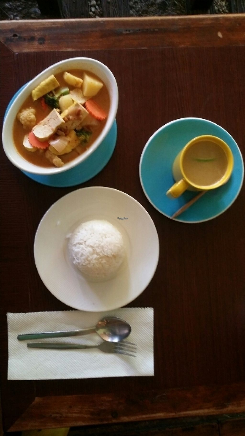 "Photo of Dada Kafe  by <a href=""/members/profile/Mike%20Munsie"">Mike Munsie</a> <br/>massaman curry with tofu and rice <br/> March 16, 2017  - <a href='/contact/abuse/image/32553/236964'>Report</a>"