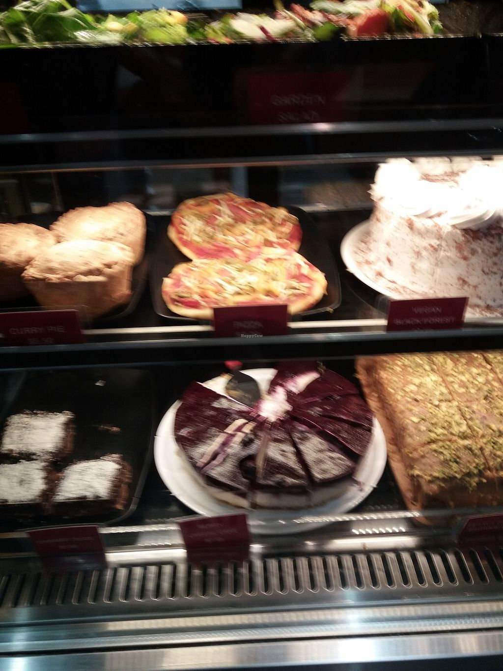 """Photo of Hari's Vegetarian  by <a href=""""/members/profile/veganvirtues"""">veganvirtues</a> <br/>Selection of vegan cakes <br/> July 11, 2017  - <a href='/contact/abuse/image/32555/279001'>Report</a>"""