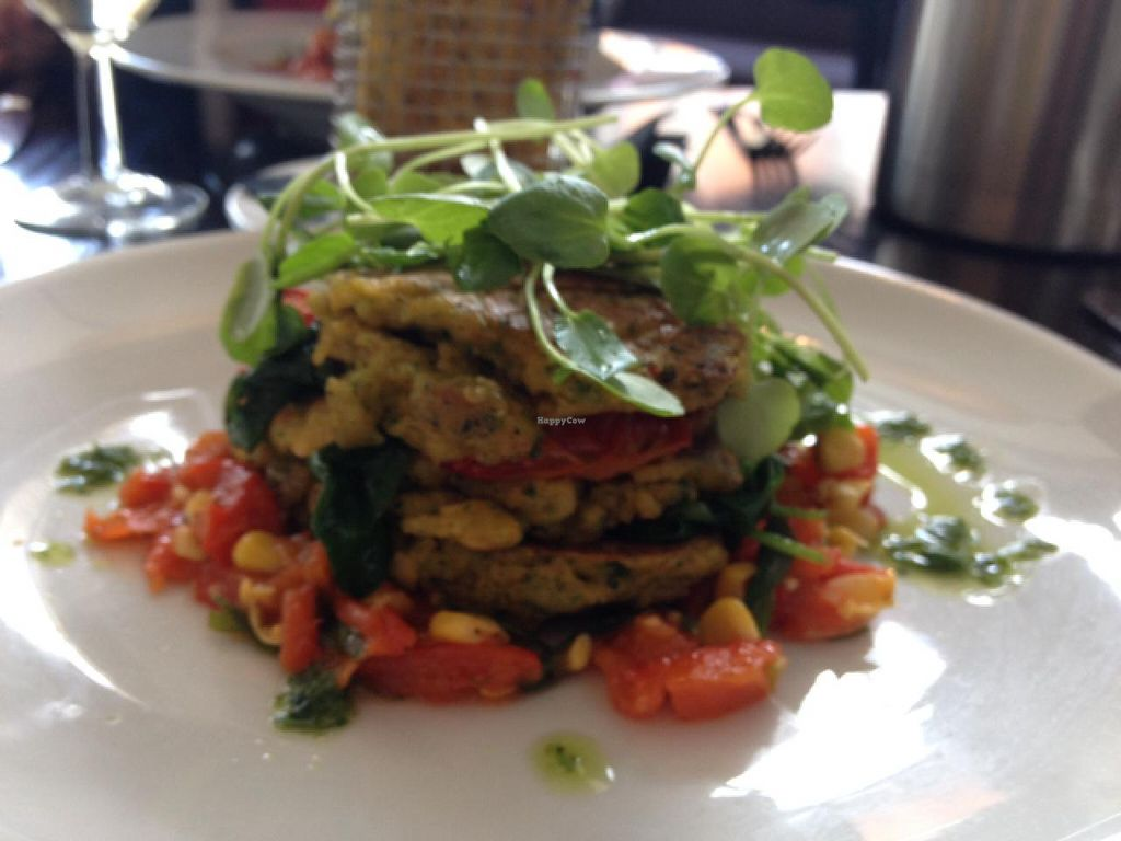 """Photo of The Gate - Islington  by <a href=""""/members/profile/hack_man"""">hack_man</a> <br/>chilli scotch pancake stack <br/> July 25, 2015  - <a href='/contact/abuse/image/32582/110885'>Report</a>"""