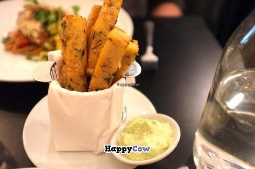 """Photo of The Gate - Islington  by <a href=""""/members/profile/Barbara%20Primo"""">Barbara Primo</a> <br/>Polenta fritters OMG! <br/> November 1, 2013  - <a href='/contact/abuse/image/32582/57686'>Report</a>"""