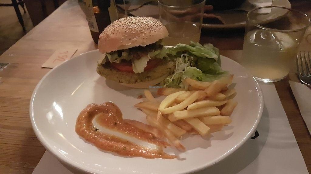 "Photo of Woki Organic Market and Restaurant  by <a href=""/members/profile/MajaBizjak"">MajaBizjak</a> <br/>Bio quinoa burger <br/> May 29, 2017  - <a href='/contact/abuse/image/32610/264019'>Report</a>"