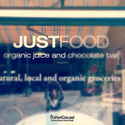 Photo of CLOSED: JUSTFOOD  by JUSTFOOD <br/>signage <br/> June 5, 2012  - <a href='/contact/abuse/image/32612/32790'>Report</a>