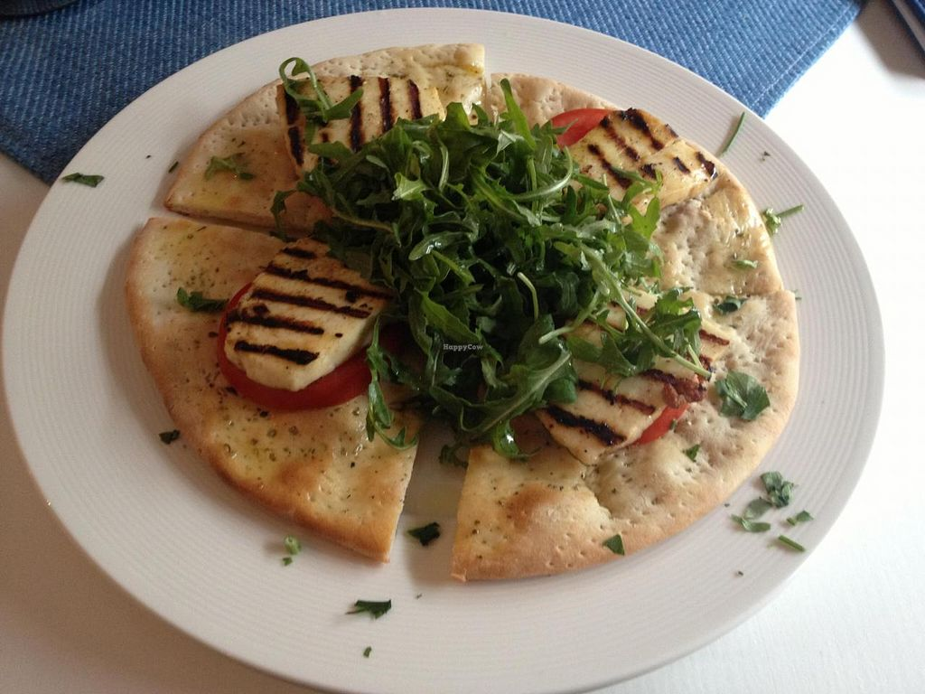 """Photo of Hellada Greek Tavern and Pizzeria  by <a href=""""/members/profile/thisplaceisheaven"""">thisplaceisheaven</a> <br/>haloumi on sth :) <br/> May 26, 2014  - <a href='/contact/abuse/image/32636/70775'>Report</a>"""