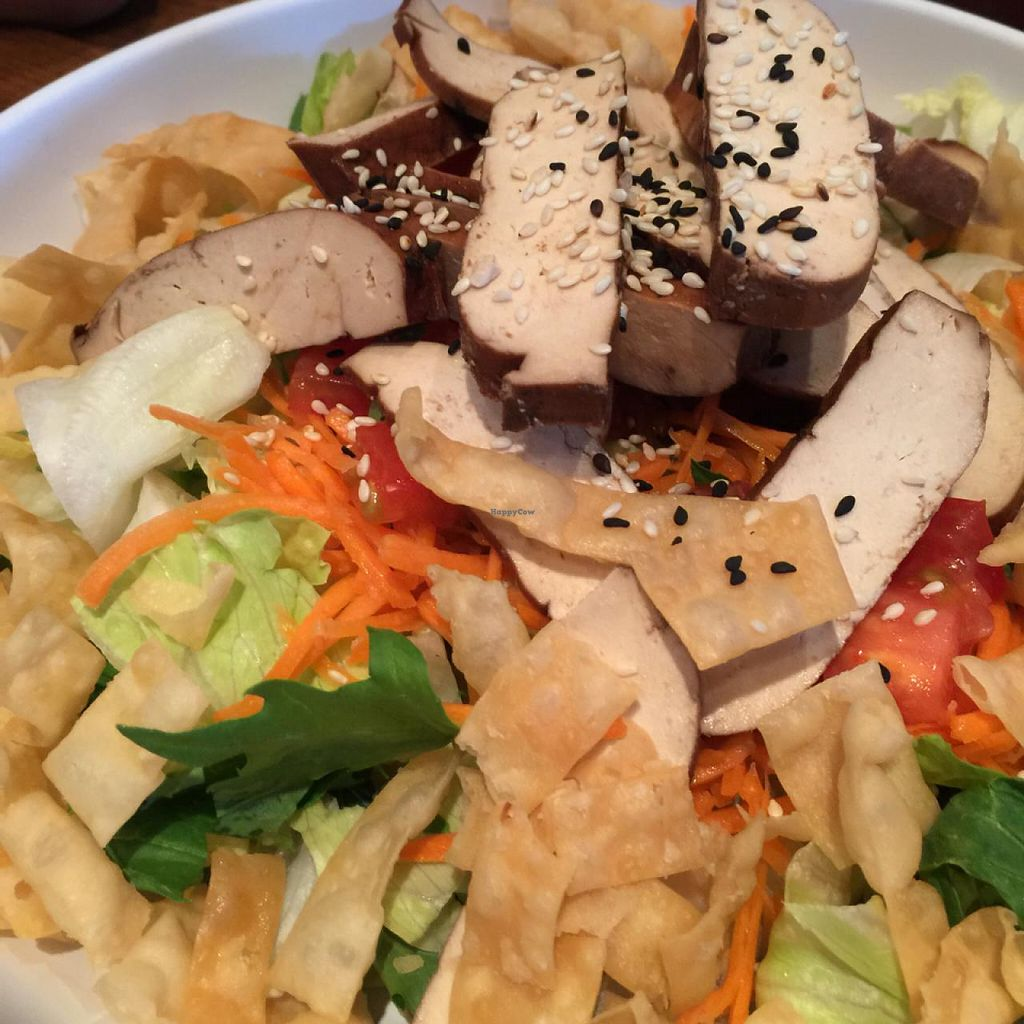 """Photo of Pei Wei Asian Diner  by <a href=""""/members/profile/MyVegetarianWorld"""">MyVegetarianWorld</a> <br/>Asian chopped tofu salad <br/> July 21, 2015  - <a href='/contact/abuse/image/32650/110354'>Report</a>"""