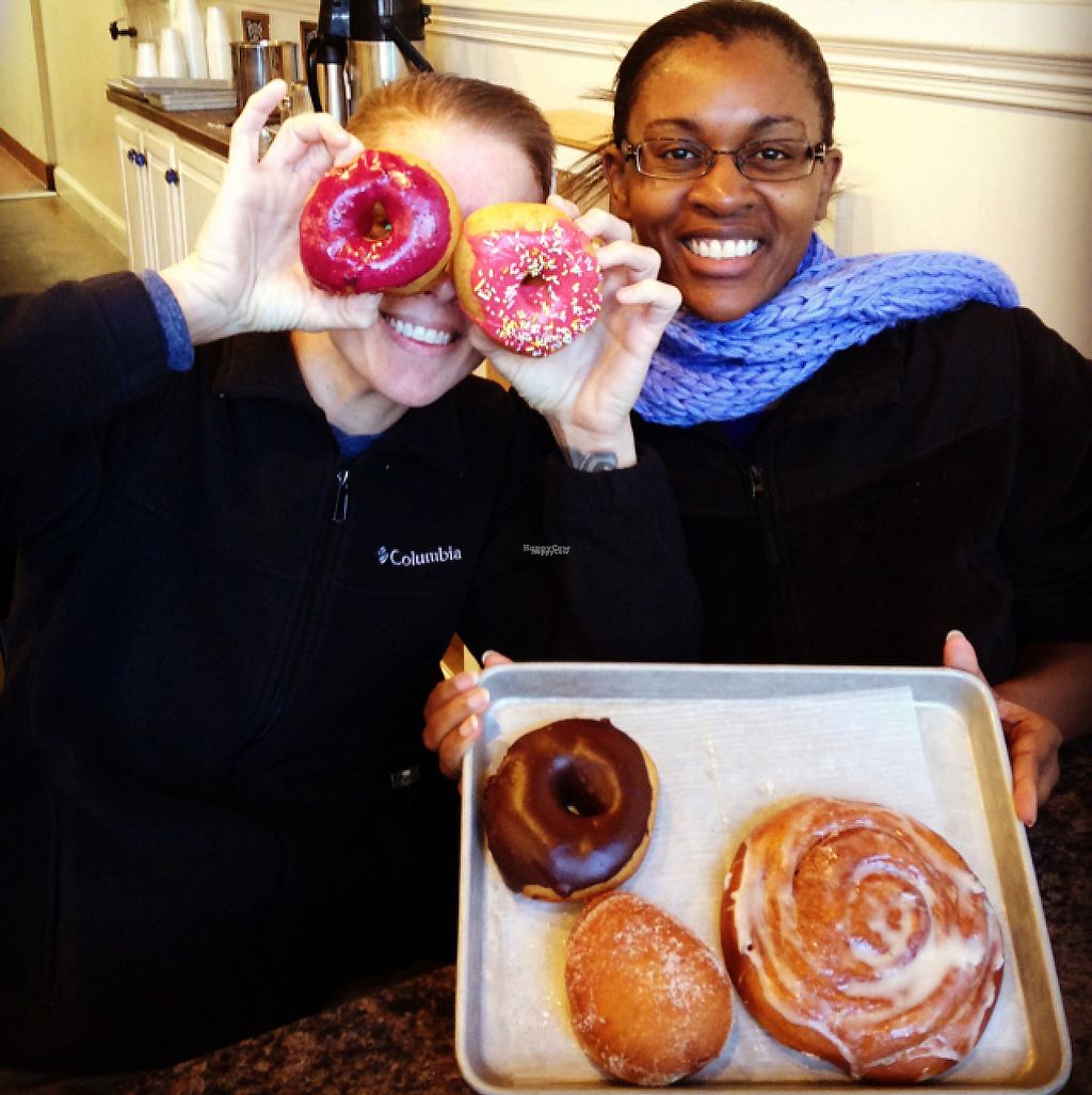 """Photo of Revolution Doughnuts  by <a href=""""/members/profile/calamaestra"""">calamaestra</a> <br/>doughnut and cinnamon roll <br/> March 18, 2017  - <a href='/contact/abuse/image/32680/237945'>Report</a>"""