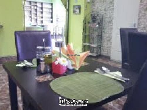 "Photo of Casa Vegetariana  by <a href=""/members/profile/Loli"">Loli</a> <br/>The table in Casa vegetariana in Constanza <br/> June 19, 2012  - <a href='/contact/abuse/image/32684/33504'>Report</a>"