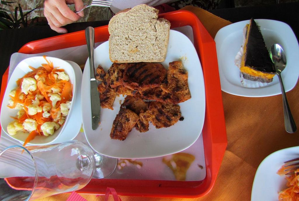 "Photo of Casa Vegetariana  by <a href=""/members/profile/Chris%20Phillips%20Vegan"">Chris Phillips Vegan</a> <br/>Another lovely meal <br/> June 22, 2014  - <a href='/contact/abuse/image/32684/72522'>Report</a>"