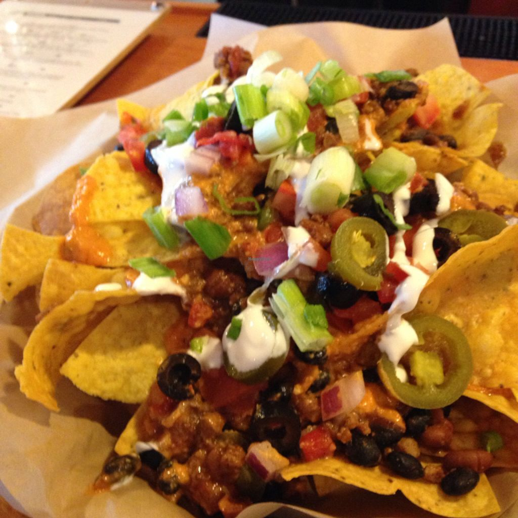 """Photo of Pig Minds Brewing  by <a href=""""/members/profile/Mpveg"""">Mpveg</a> <br/>huge plate of nachos <br/> September 24, 2015  - <a href='/contact/abuse/image/32686/118958'>Report</a>"""