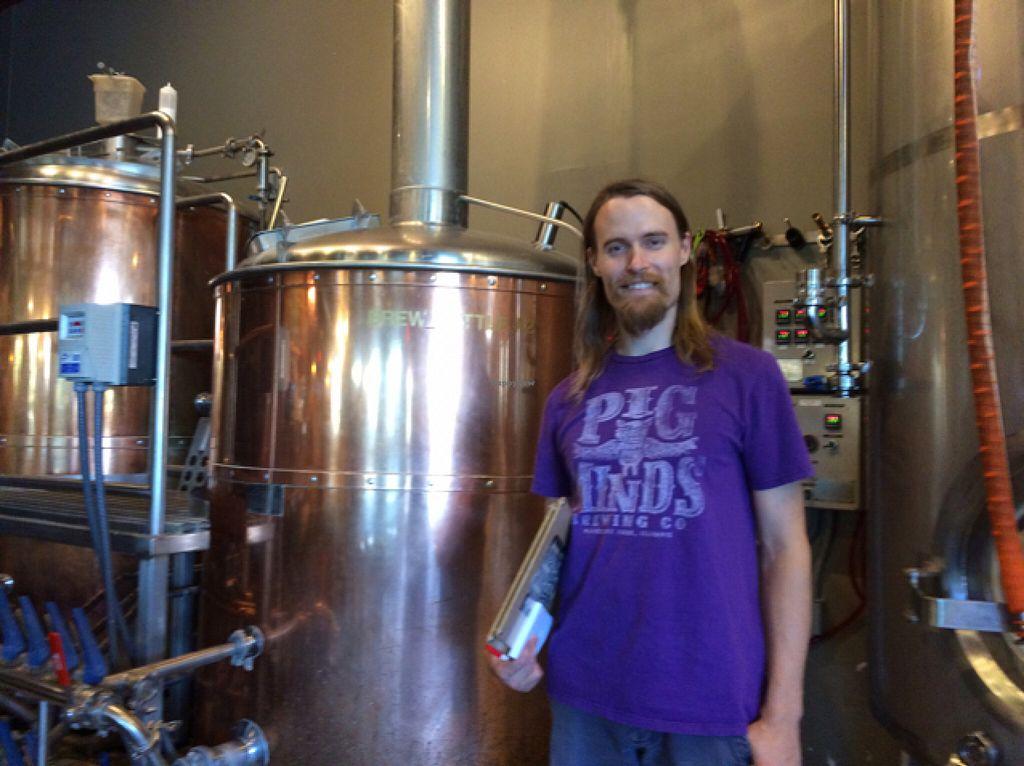 """Photo of Pig Minds Brewing  by <a href=""""/members/profile/WarrenvilleGirl"""">WarrenvilleGirl</a> <br/>Bjorn - excellent service and friendly <br/> July 9, 2016  - <a href='/contact/abuse/image/32686/158766'>Report</a>"""