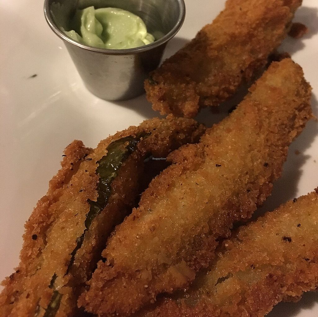 """Photo of Pig Minds Brewing  by <a href=""""/members/profile/Boilermaker11"""">Boilermaker11</a> <br/>Fried Pickles <br/> February 12, 2018  - <a href='/contact/abuse/image/32686/358507'>Report</a>"""