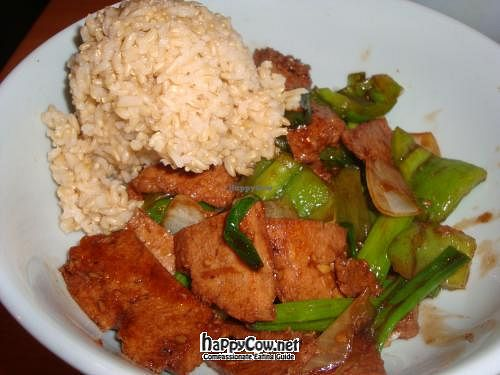 """Photo of Sipz Fusion Cafe - Clairemont Mesa  by <a href=""""/members/profile/Sonja%20and%20Dirk"""">Sonja and Dirk</a> <br/>Mongolian style entree <br/> May 27, 2012  - <a href='/contact/abuse/image/3275/32399'>Report</a>"""