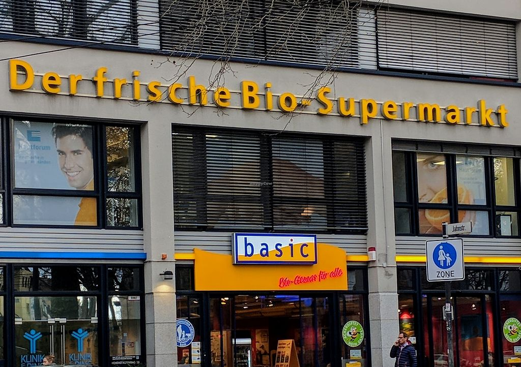 "Photo of Basic Bio-Supermarket - am Zulpicher Platz  by <a href=""/members/profile/Veganbeanstalk"">Veganbeanstalk</a> <br/>Front of Bio Markt <br/> January 31, 2018  - <a href='/contact/abuse/image/32780/353149'>Report</a>"