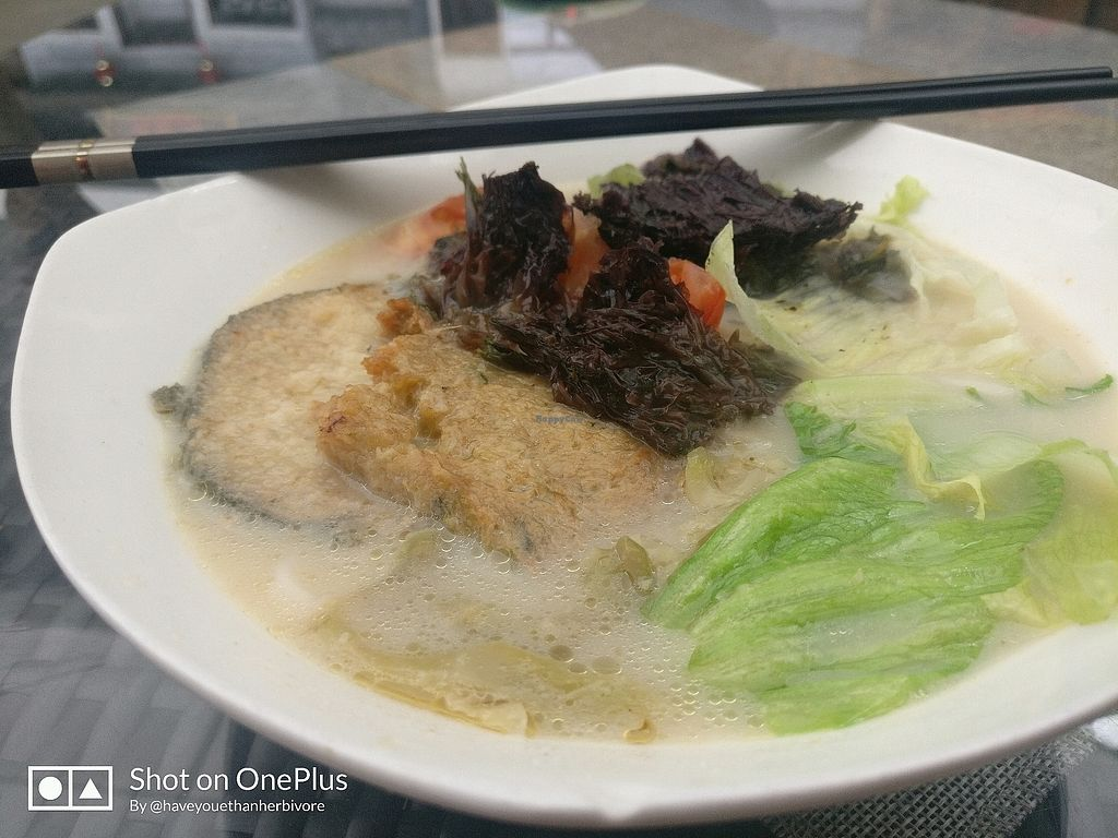 """Photo of Water Drop Teahouse  by <a href=""""/members/profile/haveUethanherebivore"""">haveUethanherebivore</a> <br/>fish head noodles <br/> January 19, 2018  - <a href='/contact/abuse/image/32789/348156'>Report</a>"""