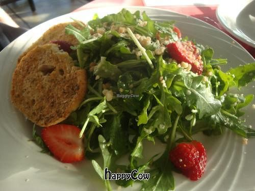 """Photo of CLOSED: Kaya Island Eats  by <a href=""""/members/profile/Sonja%20and%20Dirk"""">Sonja and Dirk</a> <br/>Kaya salad (with no goat cheese) <br/> March 16, 2013  - <a href='/contact/abuse/image/32801/45568'>Report</a>"""