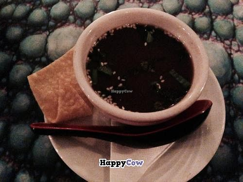 """Photo of CLOSED: Kaya Island Eats  by <a href=""""/members/profile/happycowgirl"""">happycowgirl</a> <br/>Miso Soup (vegan) <br/> December 25, 2013  - <a href='/contact/abuse/image/32801/60900'>Report</a>"""