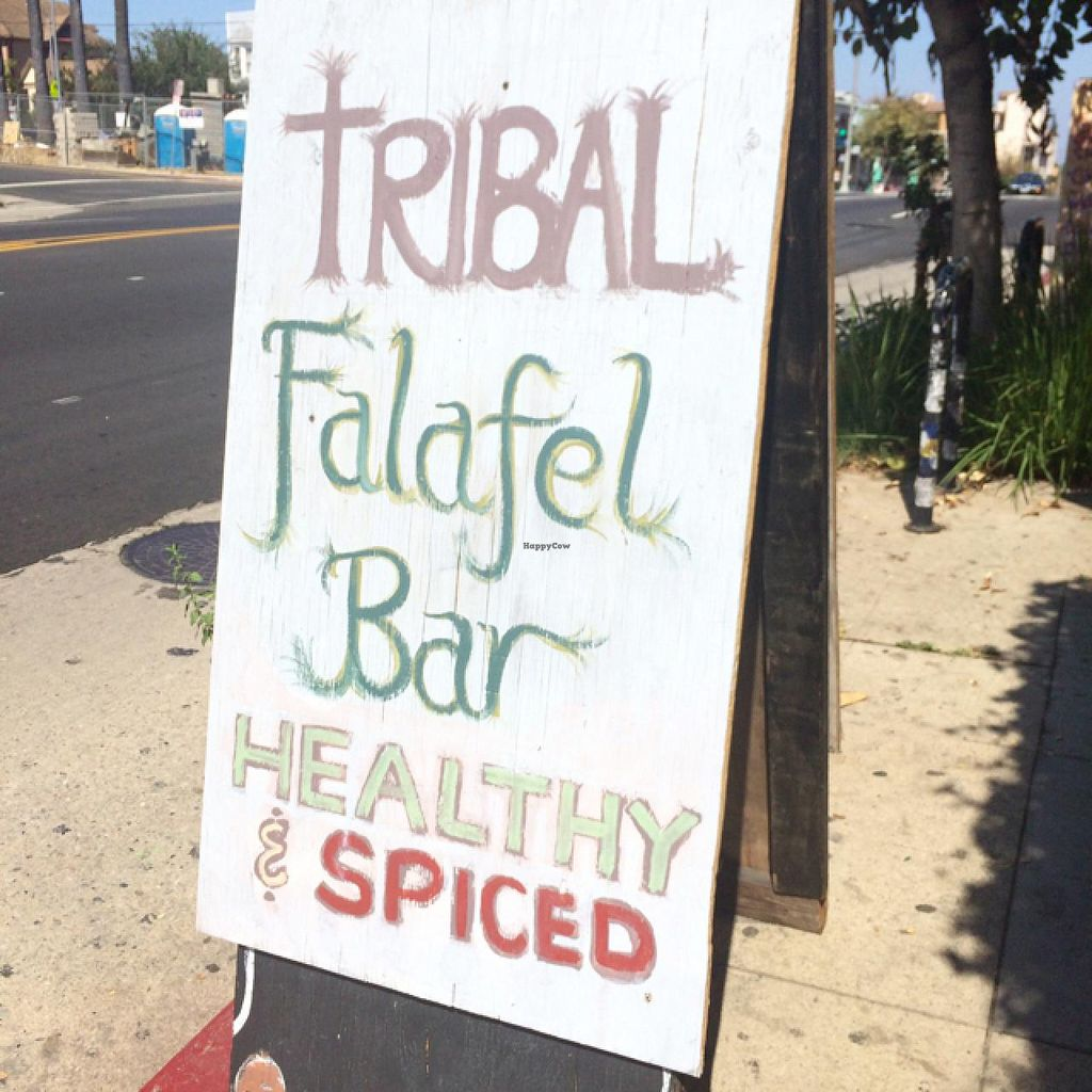 """Photo of Tribal Cafe  by <a href=""""/members/profile/pinkseele"""">pinkseele</a> <br/>outside sign <br/> June 22, 2015  - <a href='/contact/abuse/image/32806/106988'>Report</a>"""