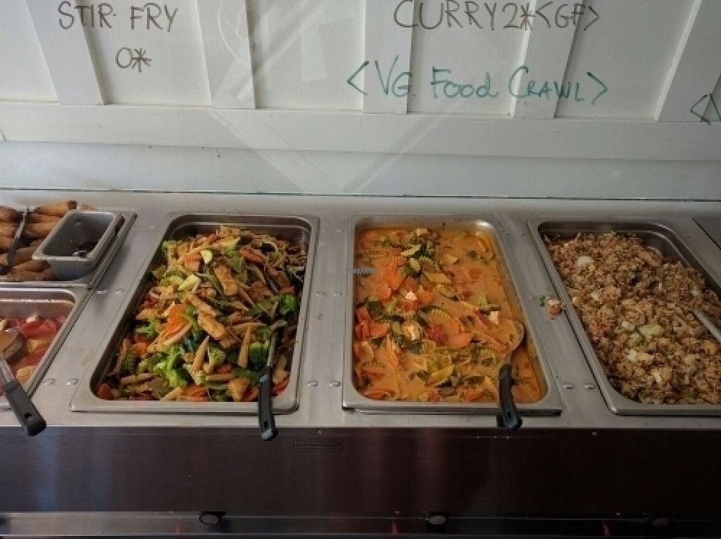 """Photo of Araya's Place  by <a href=""""/members/profile/The%20Hungry%20Vegan"""">The Hungry Vegan</a> <br/>Buffet <br/> August 23, 2016  - <a href='/contact/abuse/image/32807/170877'>Report</a>"""