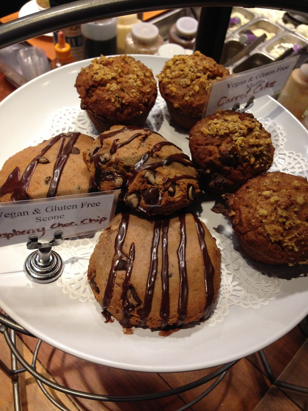 "Photo of New Moon VT  by <a href=""/members/profile/BarbaraMorningstar"">BarbaraMorningstar</a> <br/>Vegan chocolate scones  <br/> February 15, 2018  - <a href='/contact/abuse/image/32840/359533'>Report</a>"