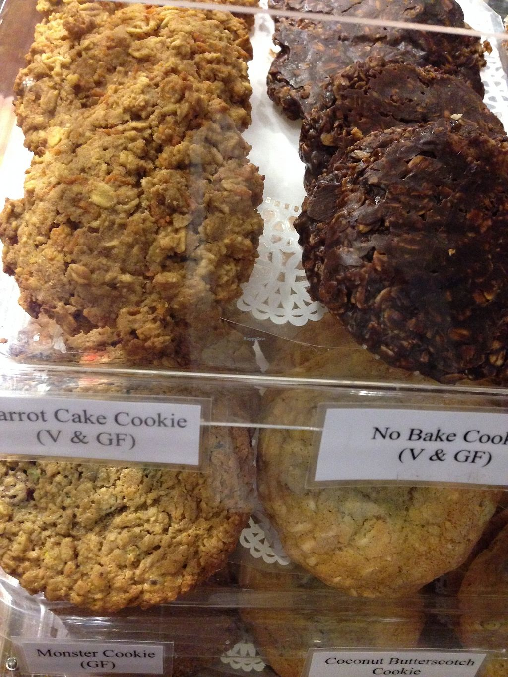 "Photo of New Moon VT  by <a href=""/members/profile/BarbaraMorningstar"">BarbaraMorningstar</a> <br/>Vegan carrot cake cookies and no bake cookiess <br/> February 15, 2018  - <a href='/contact/abuse/image/32840/359534'>Report</a>"