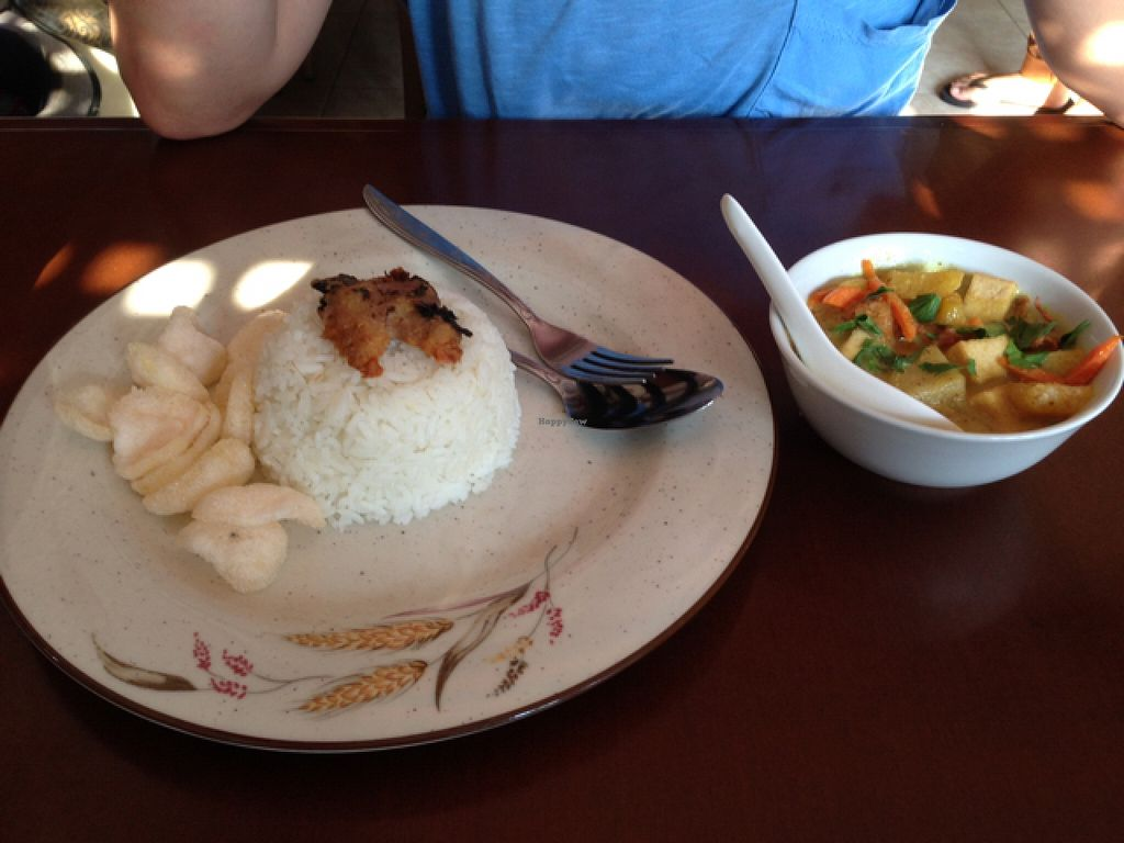 "Photo of I Love Vegetarian Food - De Ra Sa  by <a href=""/members/profile/Michael.Milla"">Michael.Milla</a> <br/>Nasi Kare Malay - super, super delicious:) <br/> October 26, 2015  - <a href='/contact/abuse/image/32847/122713'>Report</a>"