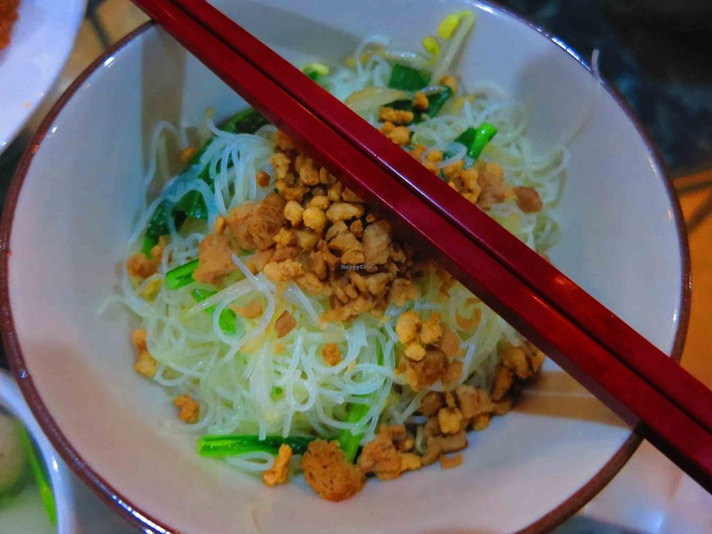 """Photo of I Love Vegetarian Food - De Ra Sa  by <a href=""""/members/profile/CassieN"""">CassieN</a> <br/>Noodles <br/> February 9, 2014  - <a href='/contact/abuse/image/32847/63954'>Report</a>"""