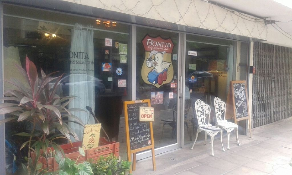 "Photo of Bonita Cafe and Social Club  by <a href=""/members/profile/VeganCrush"">VeganCrush</a> <br/>Bonita cafe <br/> June 27, 2016  - <a href='/contact/abuse/image/32850/156337'>Report</a>"
