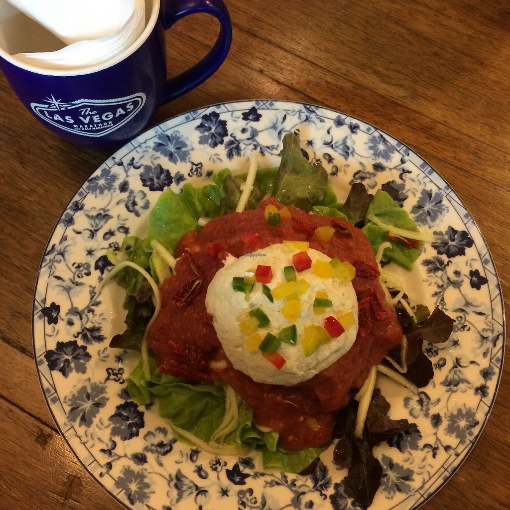 """Photo of Bonita Cafe and Social Club  by <a href=""""/members/profile/evoontoast"""">evoontoast</a> <br/>raw zucchini spaghetti (incl. raw sauce!) <br/> August 4, 2017  - <a href='/contact/abuse/image/32850/288677'>Report</a>"""