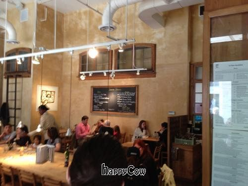 """Photo of Le Pain Quotidien - Bethesda Lane  by <a href=""""/members/profile/IndyVeganFamily"""">IndyVeganFamily</a> <br/>dining room  <br/> May 5, 2013  - <a href='/contact/abuse/image/32905/47828'>Report</a>"""