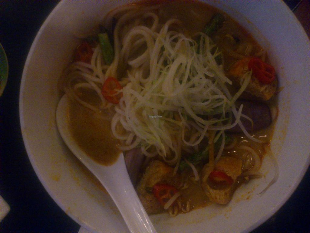 """Photo of Geographer Cafe  by <a href=""""/members/profile/vagabond%20baker"""">vagabond baker</a> <br/>delicious and nutritious Curry Ramen <br/> April 25, 2014  - <a href='/contact/abuse/image/32913/68528'>Report</a>"""