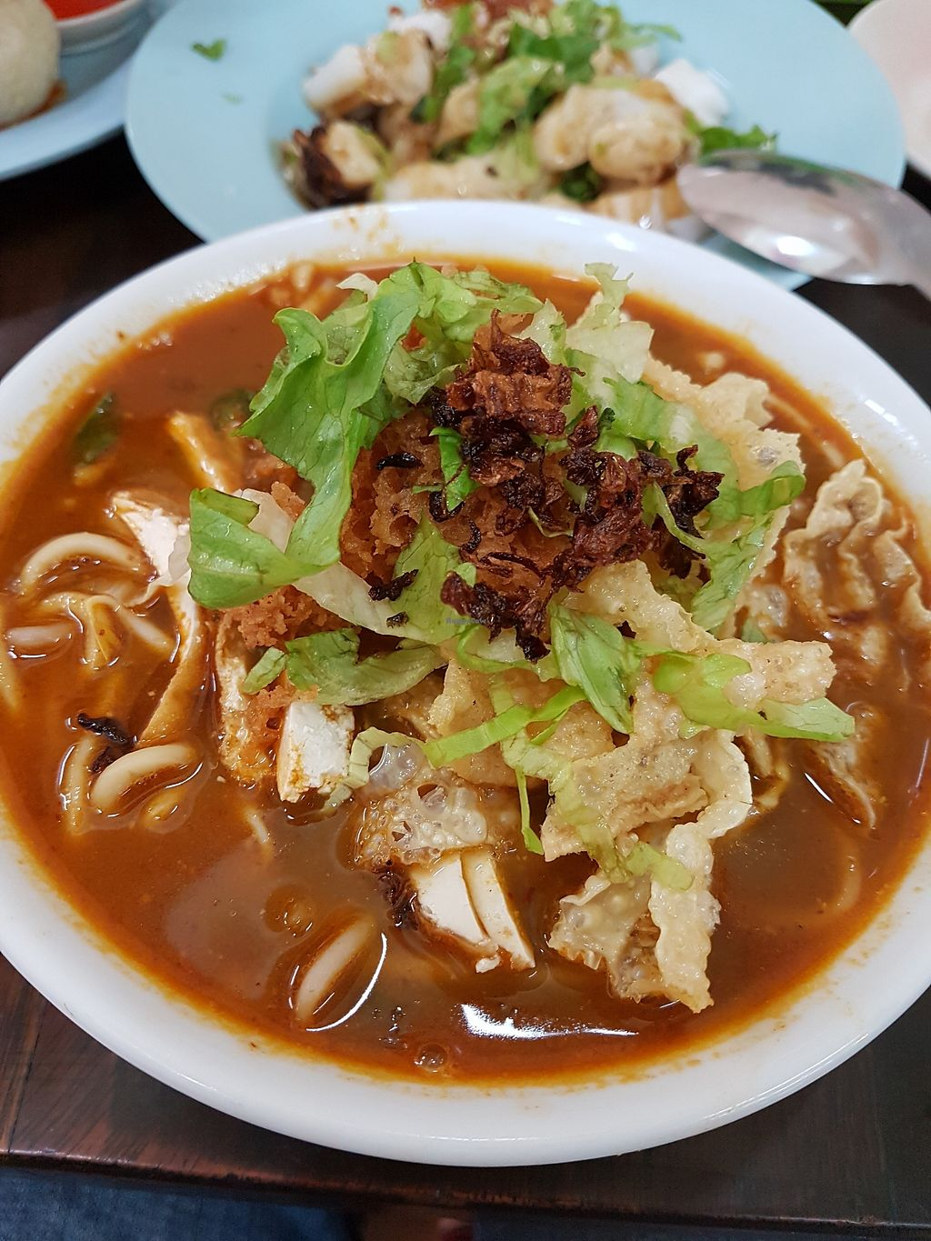 """Photo of Shui Xian Su Shi Yuan  by <a href=""""/members/profile/LaiNamKhim"""">LaiNamKhim</a> <br/>""""Prawn noodles"""". Quite different from the Singapore style. But I liked it. The broth is a little spicy <br/> March 31, 2018  - <a href='/contact/abuse/image/32914/378558'>Report</a>"""